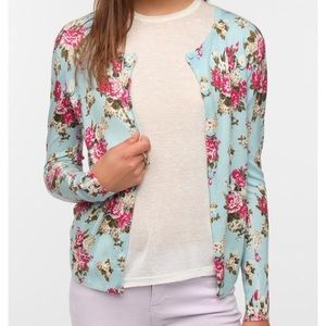 Pins & Needles Floral Cardigan